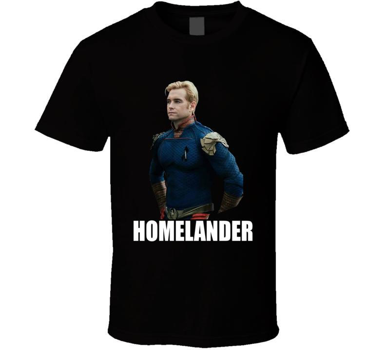 Homelander The Boys Superheroes Tv Show T Shirt