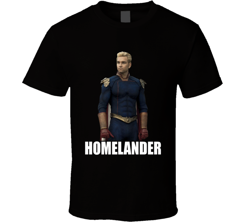 Homelander The Boys Comic Book Superheroes Tv Series T Shirt
