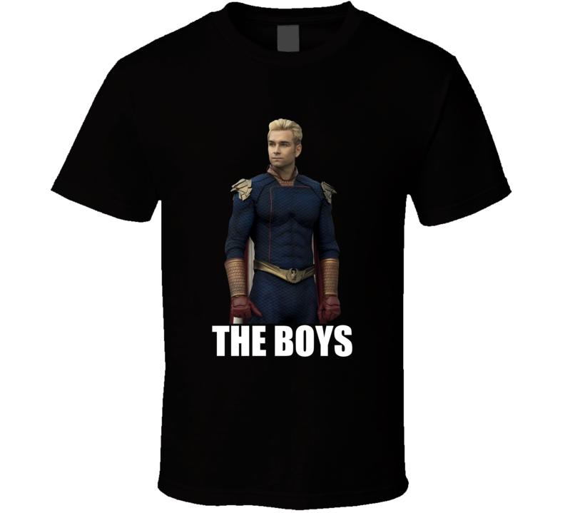 Homelander The Boys Comic Book Tv Show T Shirt
