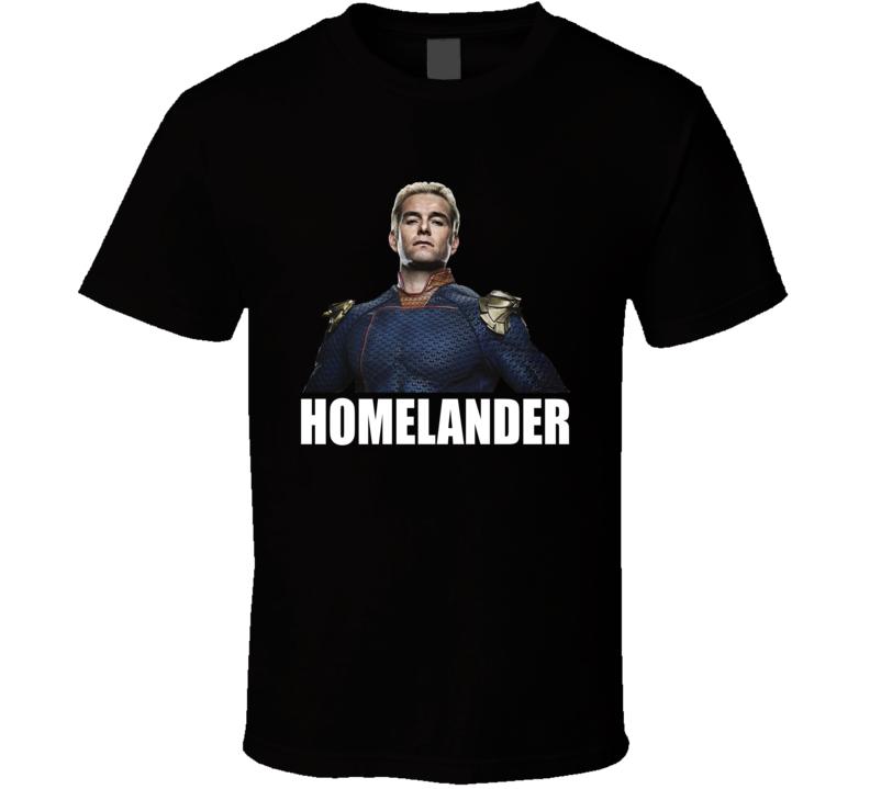 Homelander The Boys Comic Superheroes Tv Show T Shirt