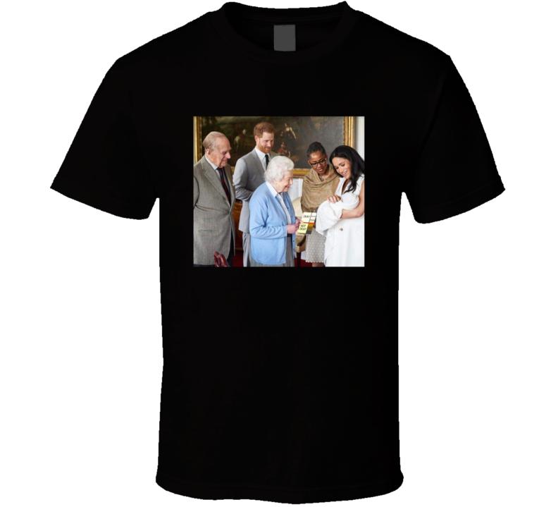 Royal Family Prince Harry Megan Baby T Shirt