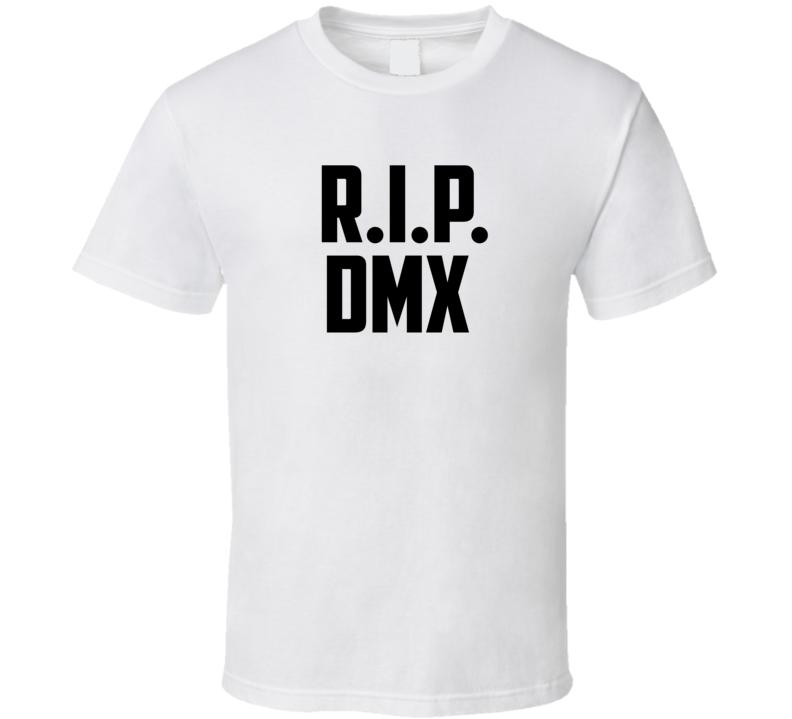Rip Dmx Tribute Rapper Music Fan T Shirt