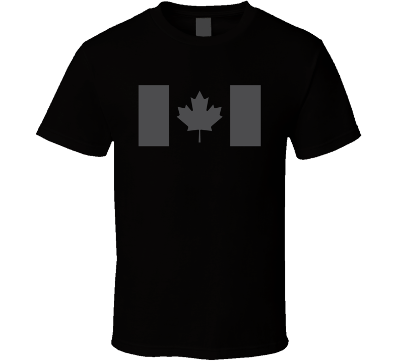 Canadian Maple Leaf Military Style T Shirt