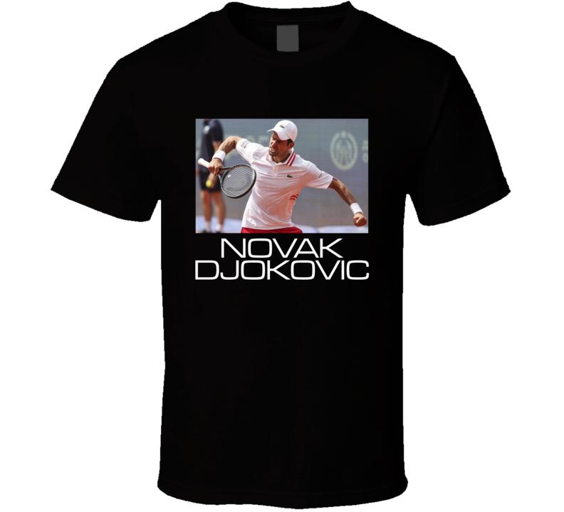 Novak Djokovic Tennis T Shirt