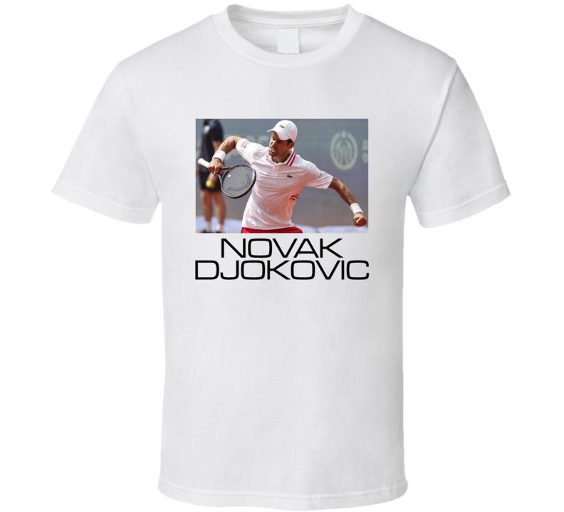 Novak Djokovic Tennis Sports T Shirt