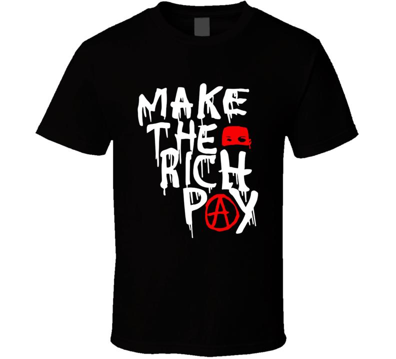 Make The Rich Pay Hasan Piker T Shirt