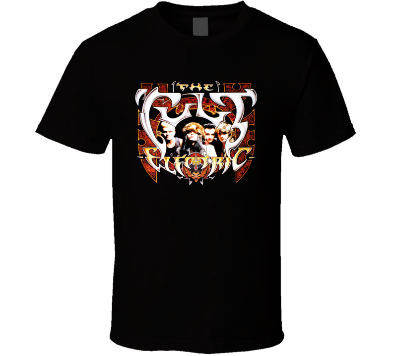 The Cult Electric Music Band Retro T Shirt