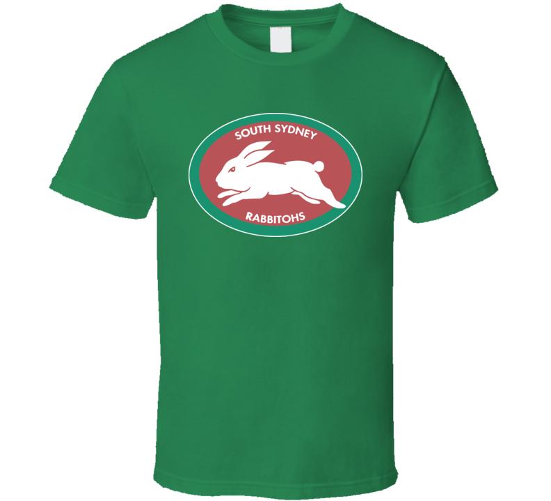 South Sydney Rabbitohs Australian Football Rugby T Shirt