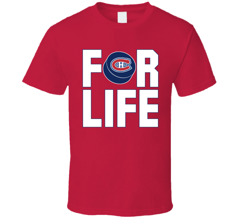 Fan For Life Montreal Hockey Canadiens T Shirt