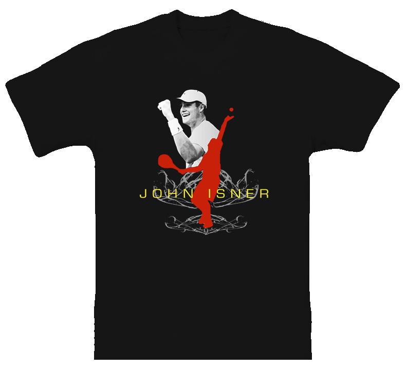 John Isner Usa Tennis T Shirt