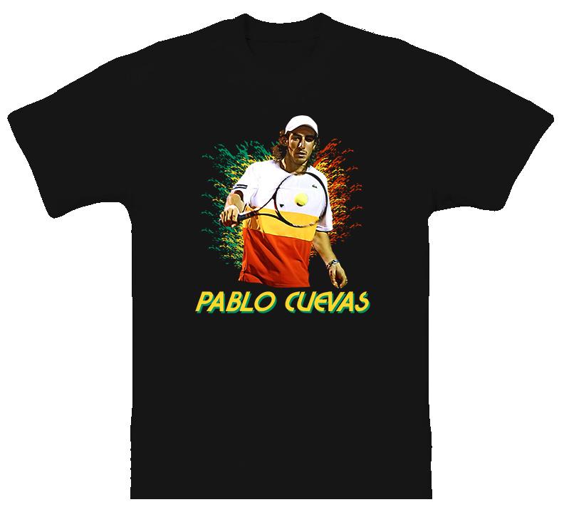 Pablo Cuevas Uruguay Tennis T Shirt