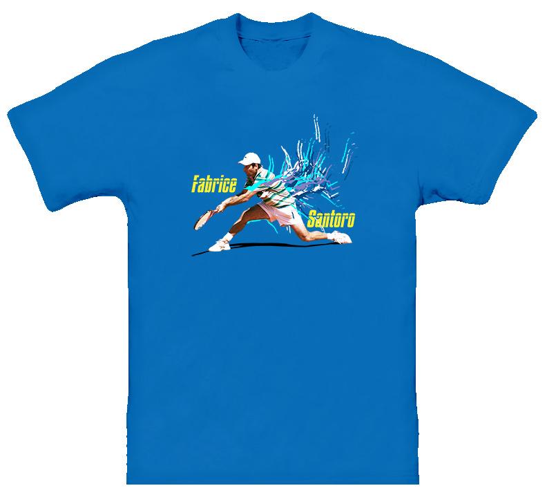 Fabrice Santoro France Tennis T Shirt