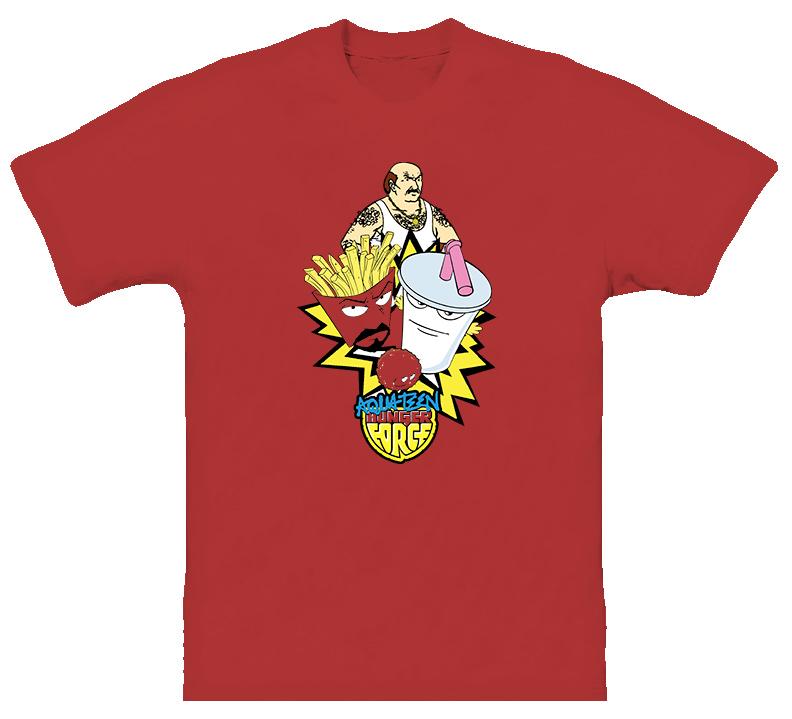 Aqua Teen Hunger Force Cartoon T Shirt