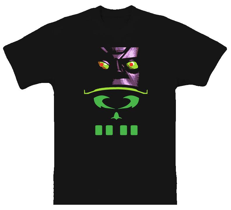 Reboot Megabyte Cartoon T Shirt
