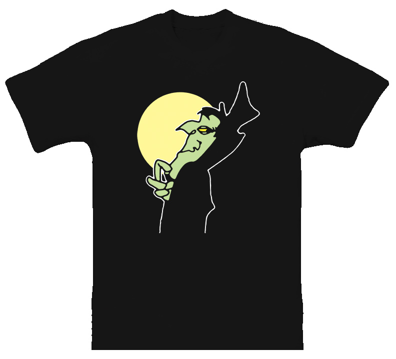 Count Blood Count Cartoon Classic T Shirt