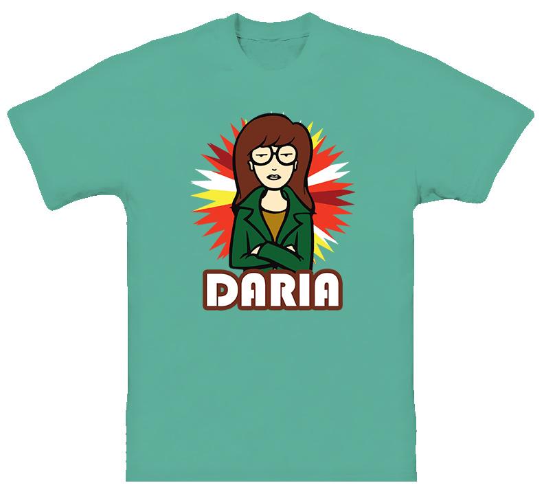 Daria Cartoon Classic T Shirt