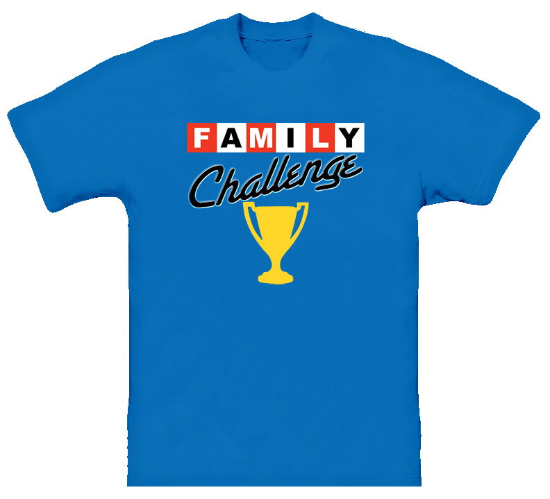 Family Challenge Kids Game T Shirt