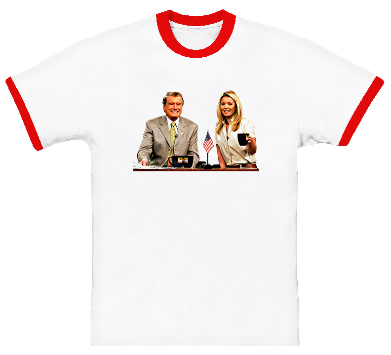 Live With Regis And Kelly Talk Show T Shirt