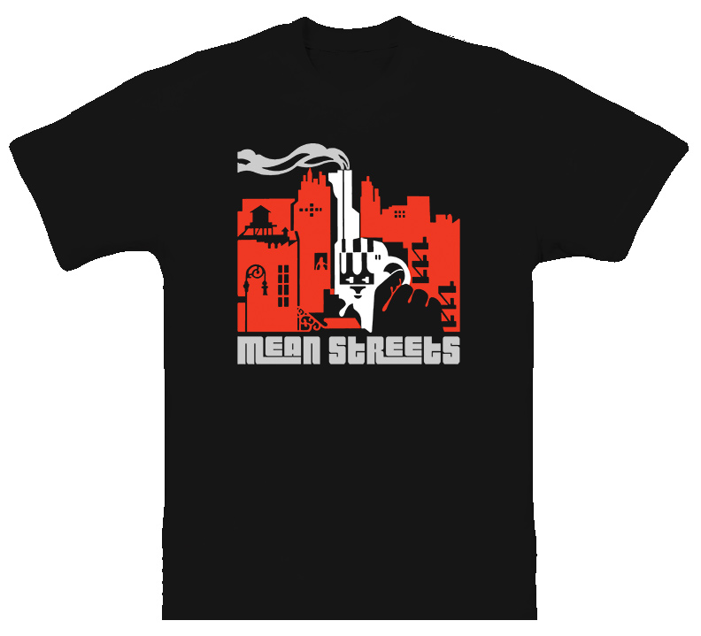 Mean Streets Gangster Classic T Shirt