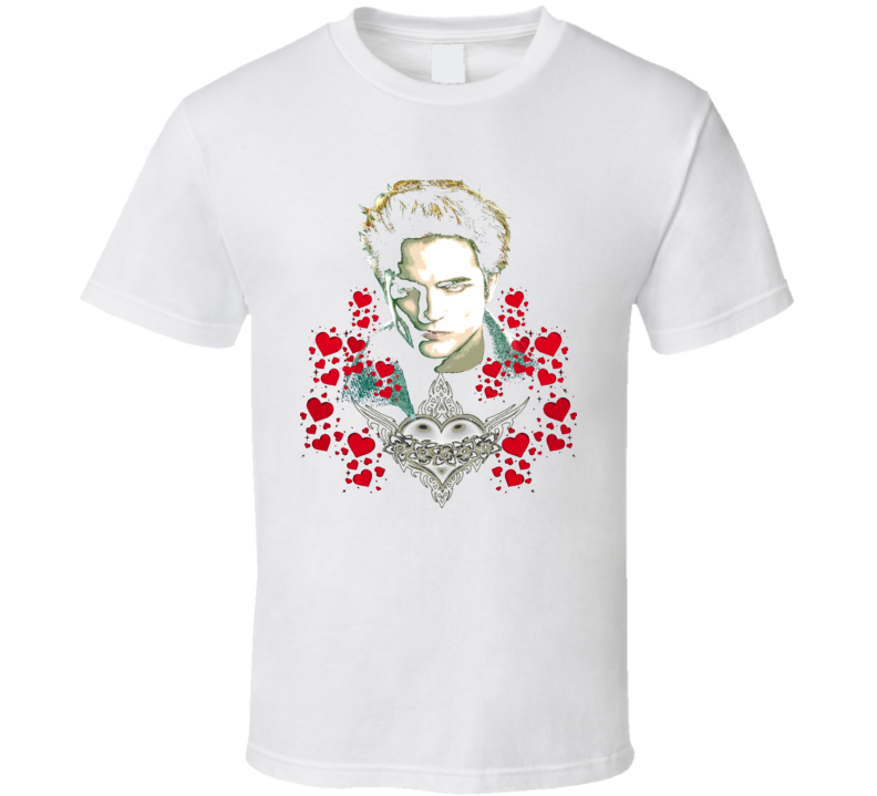 Twilight Edward Heart Classic T Shirt
