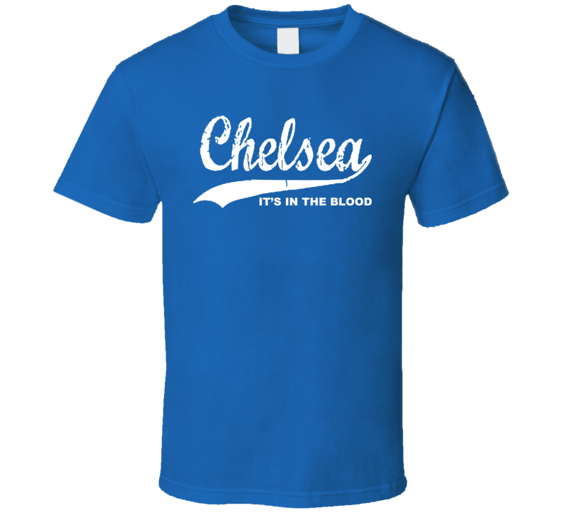 Chelsea Football Soccer Retro Logo T Shirt