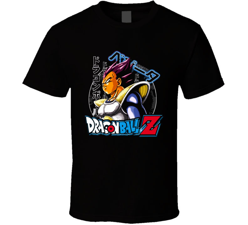 Vegeta Dragonball Z Manga T Shirt