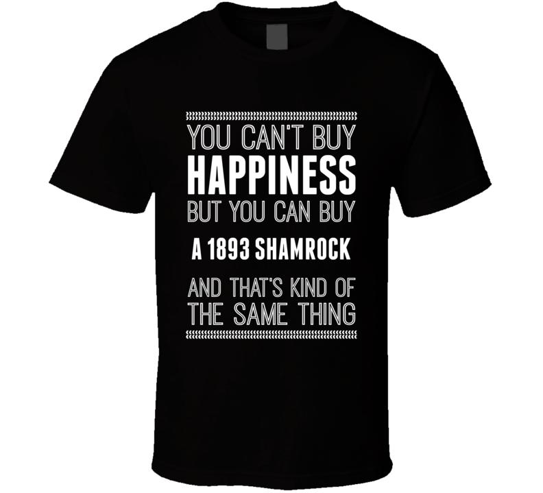 Buy A 1893 Shamrock Happiness Car Lover T Shirt