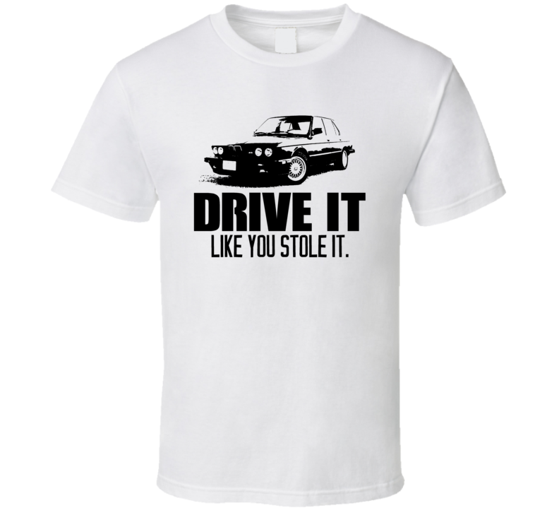 Drive It 1988 BMW M5 Car T Shirt