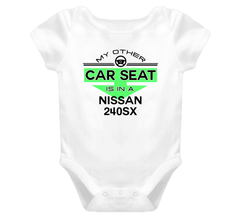 Car Seat In A Nissan 240SX Funny Kids Car T Shirt