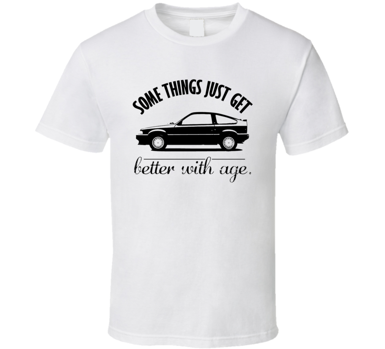 1984 Honda Civic CRX Better With Age Vintage Car T Shirt