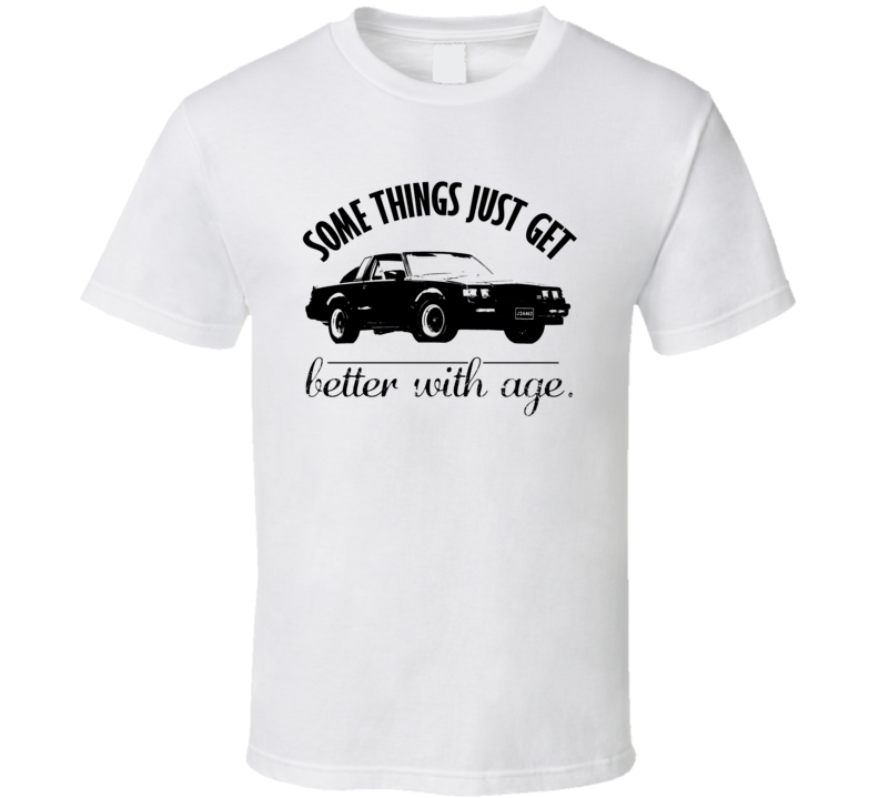 1987 Buick Grand National GNX Better With Age Vintage Car T Shirt