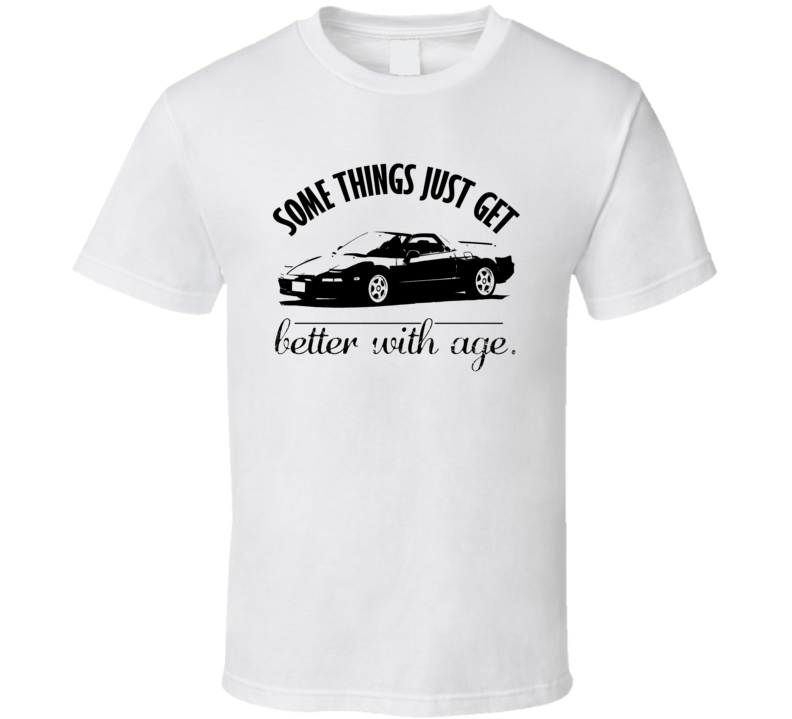 1990 Acura NSX Better With Age Vintage Car T Shirt