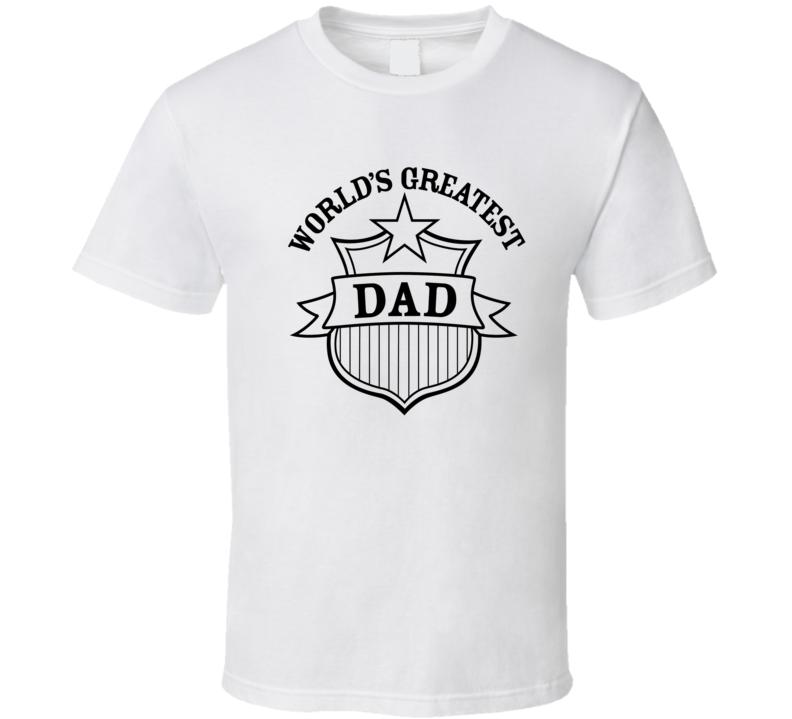 World Greatest Dad T Shirt