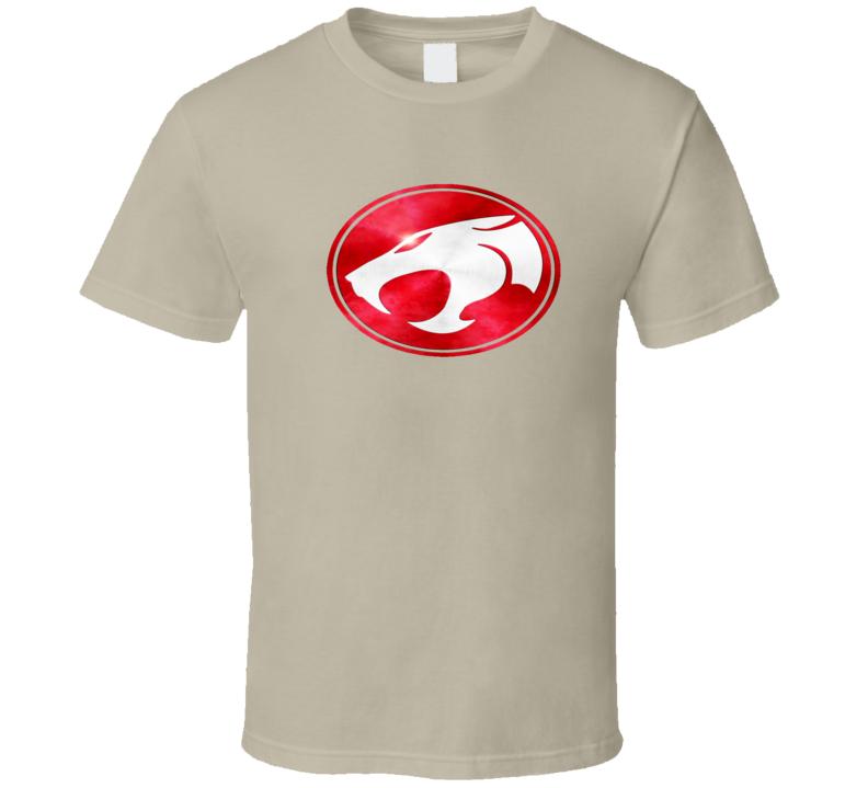 Thundercats Red and White Logo T Shirt