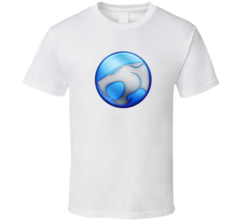 Thunder Cats Logo Thundercats  Blue Logo T Shirt