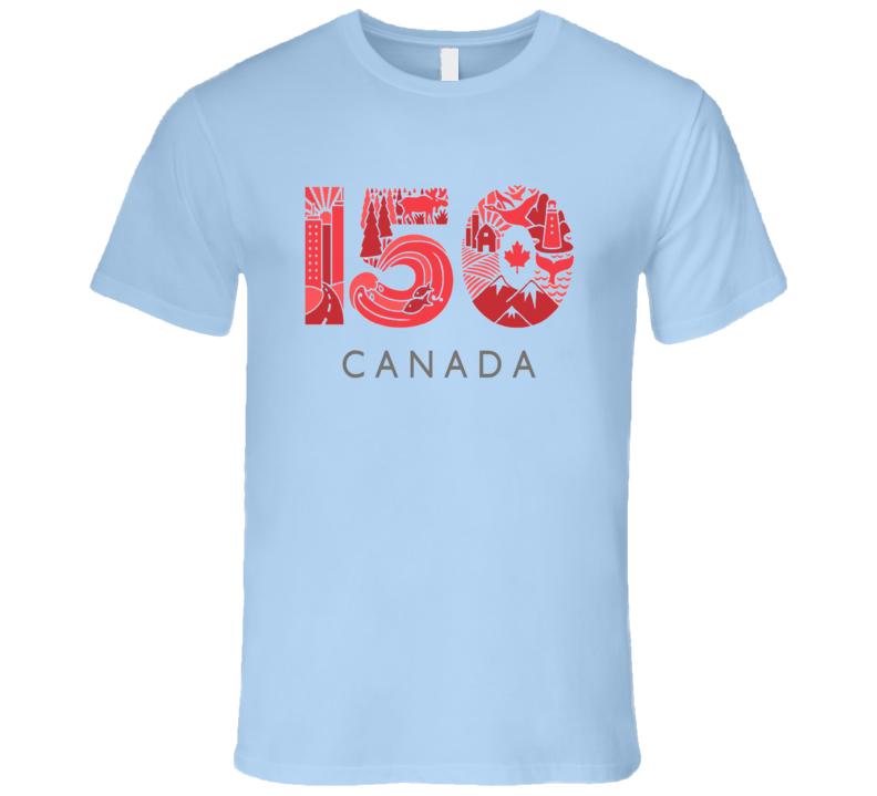 Canada 150 Anniversary Celebration 2 T Shirt