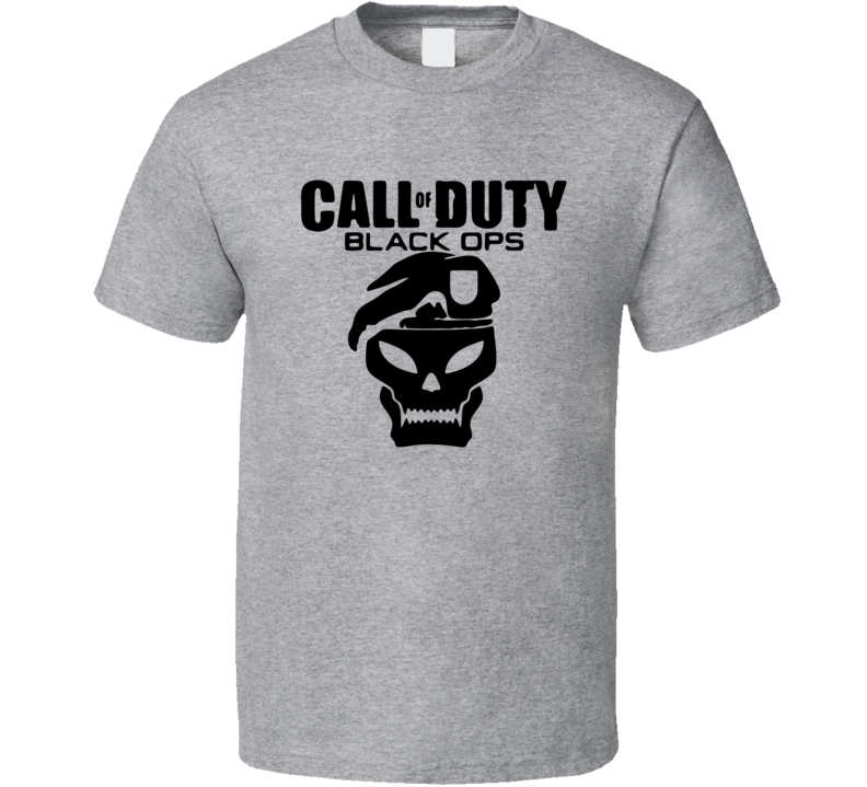 Call of Duty Black Ops Video Game T Shirt