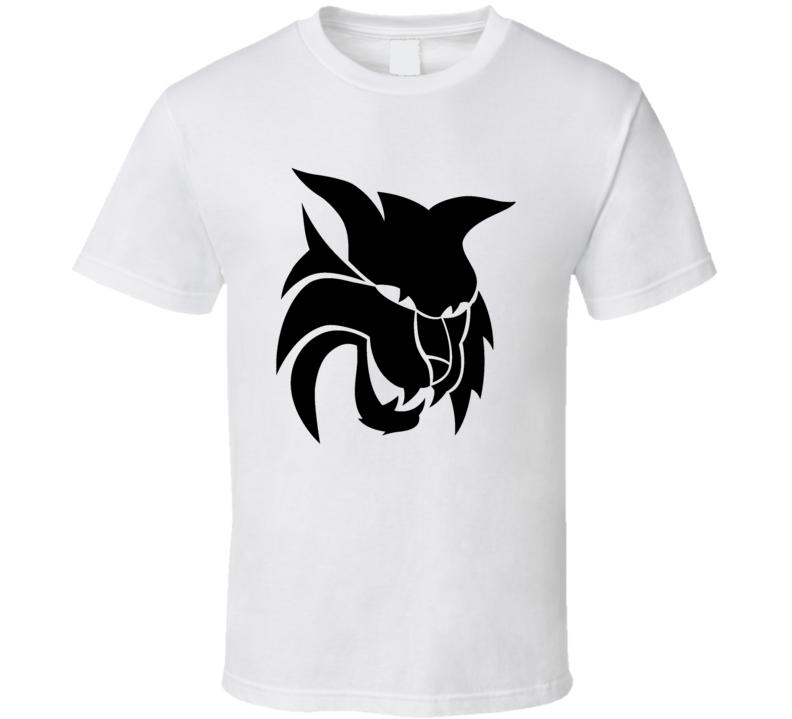 Anime Tiger Face Logo T Shirt