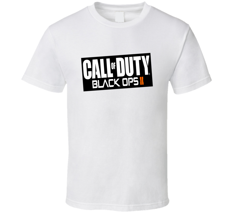 Call of Duty Black Ops Video Game Logo T Shirt