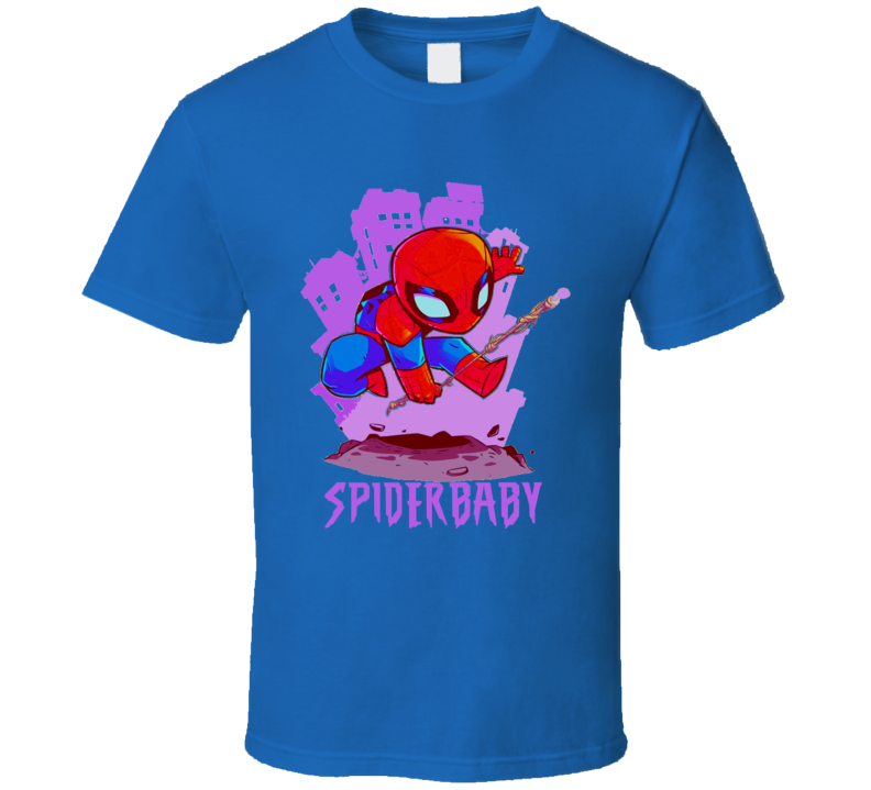 Spiderman Spiderbaby Spider Man Spider Baby Cartoon Movie T Shirt