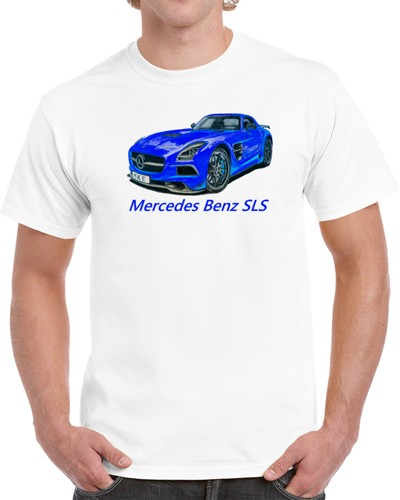 2014 Mercedes Benz Sls Amg Black Series T Shirt