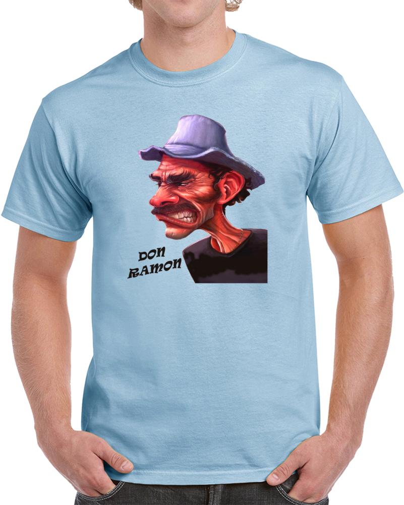 Don Ramon Enojado Chespirito Caricatura Rage Face T Shirt