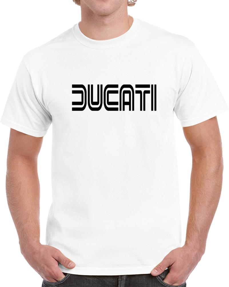 Ducati Logo Italian Motorcycle 3 T Shirt