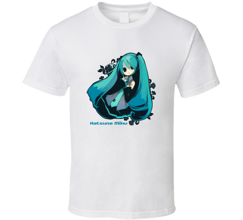Hatsune Miku In Chibi Cute T Shirt