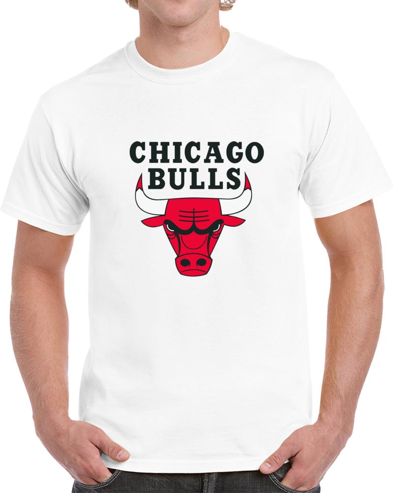 Chicago Bulls Logo T Shirt