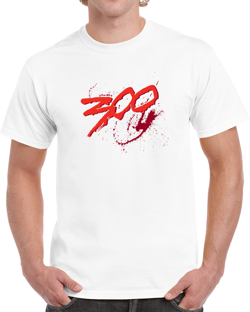 300 Three Hundred Movie Logo T Shirt