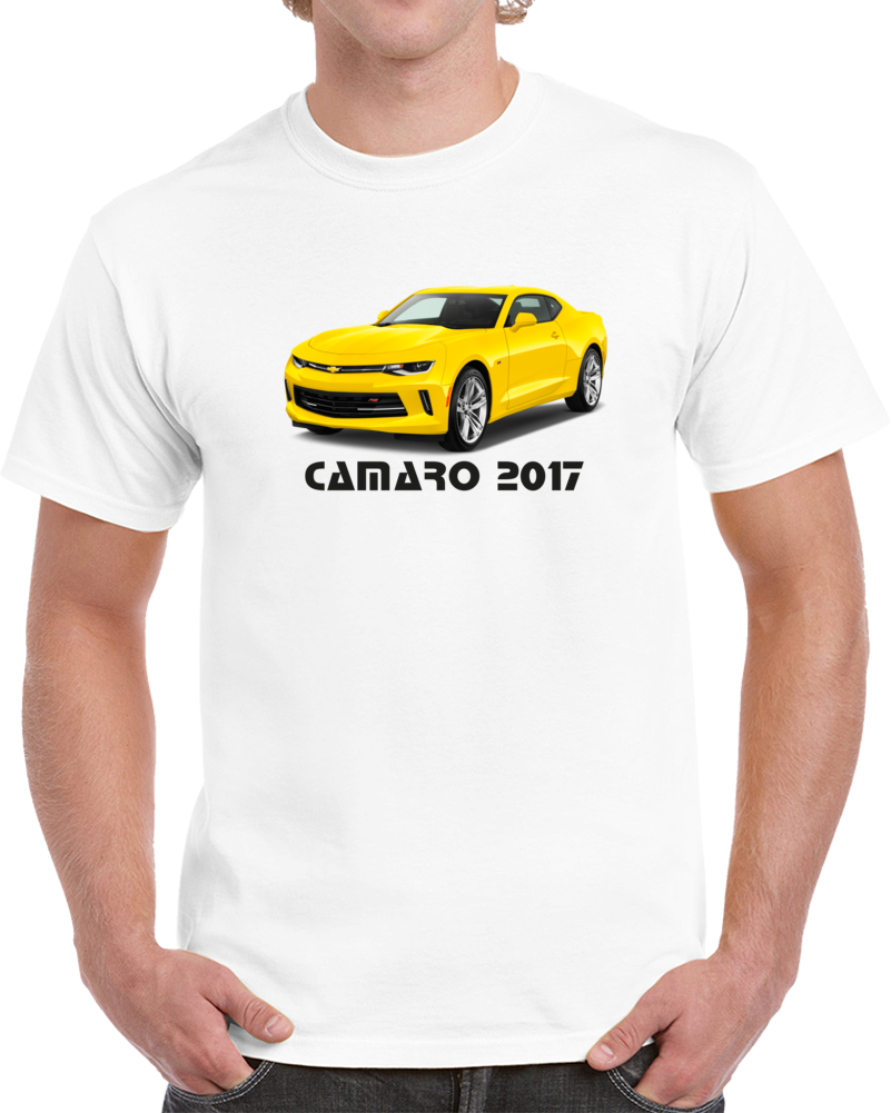 Chevrolet Camaro Coupe 2017 Front View T Shirt