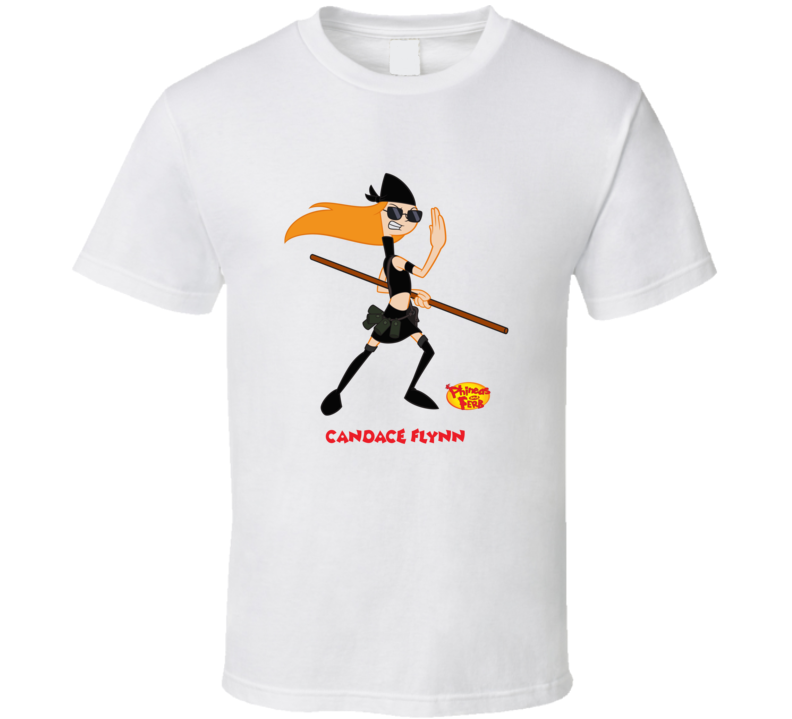 Candace Flynn Phineas And Ferb T Shirt