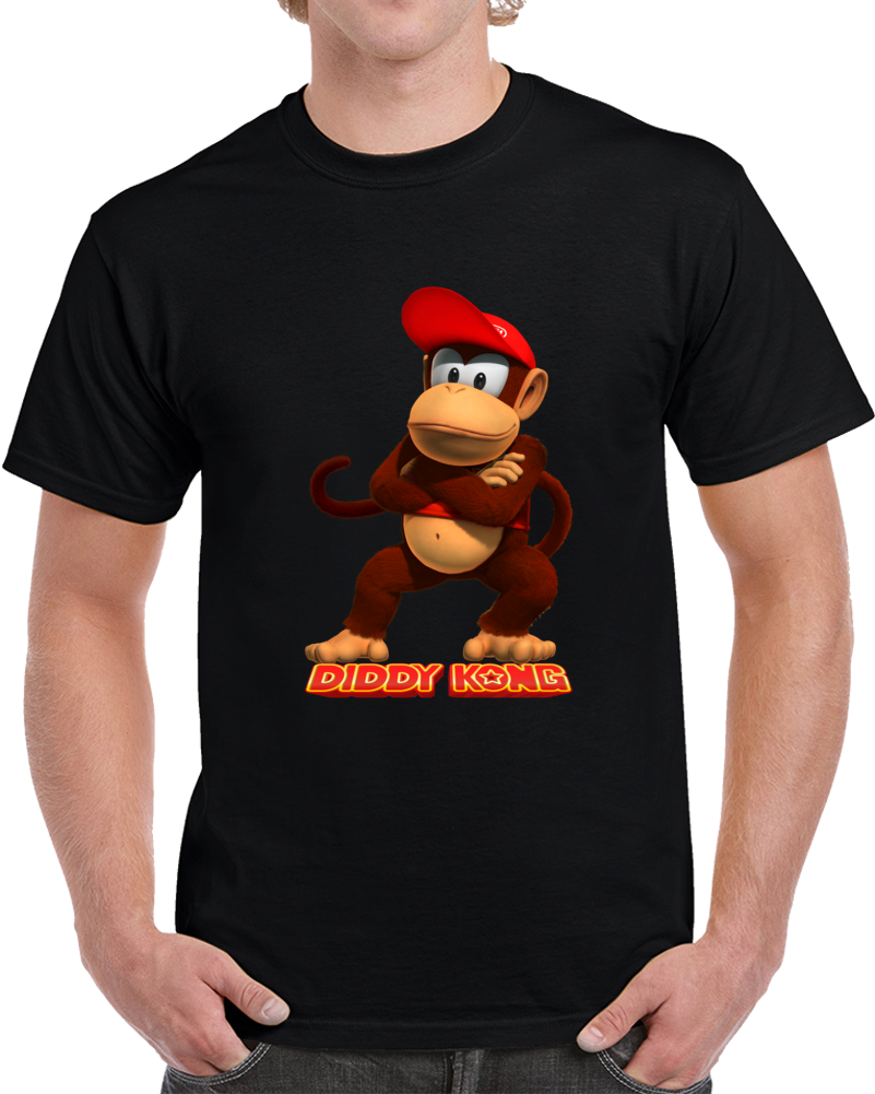 Diddy Kong Donkey Kong Country T Shirt