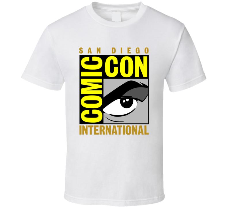 San Diego Comic Con Logo T Shirt
